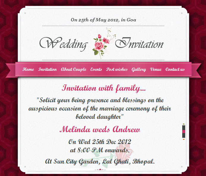351 451 - E Wedding Cards